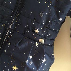 OshKosh B'gosh Jackets & Coats - OshKosh Star Print Heavyweight Fleece-Lined Coat